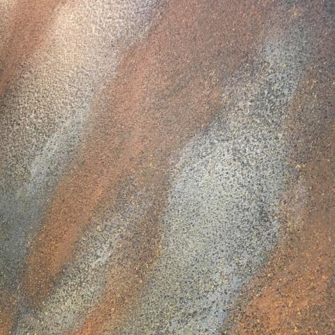 Ruggine opaco создаёт эффект ржавчины, старинного камня